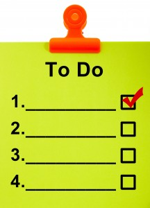 The Dreaded 'To-Do' List