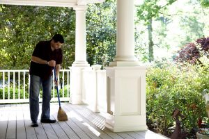 How to Broom Clean a House When Moving