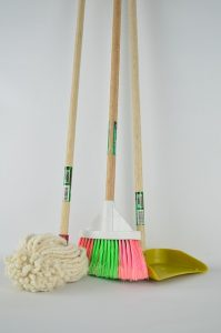 When Broom-Clean Isn't Good Enough: Don't Sweat It